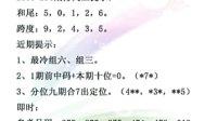 双彩网2010295-296期福彩三D开奖视频点评