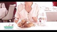 20131009杨丞琳全家超面包桂圆核桃软法面包新上市