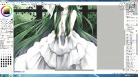 如何画电脑绘图 Rin Hagiwara (3)