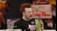 WWE RAW2010年8月10日cd2(中文)主赛:塞纳队vs.NXT队