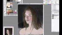 PS精品人物肖像及脸部绘画教程12