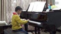 10岁王翊臣弹奏莫扎特《F大调小步舞曲》--20131019