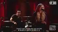 艾薇儿2007年翻唱Sarah的Adia 中英字幕