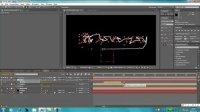 AE视频教程——绚丽多彩沙滩字