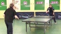 世界顶级长胶纽鲍尔博士Dr.Neubauer Inferno Classic 乒乓视频