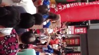 青岛李沧区步行街美女跳舞………