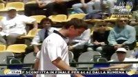费德勒时刻 萨芬和费德勒都疯了——摔拍子!!Safin and Federer Madness