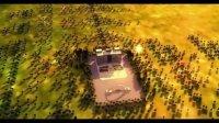 """3DMAX制作的 3D 动画,主体建筑为""""陕西理工学院4号教学楼"""""""