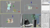vray教程视频教程14.4休闲厅-创建摄像机