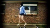 超赞!美女曳步舞高手 秀腿高挑女孩!鬼步舞教学!亮了啊