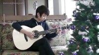 郑成河改编少女时代的《Hoot 훗》亮点在46秒 家里的圣诞树都装点好了