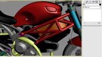 3dmax摩托车