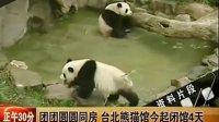 团团圆圆同房 台北熊猫馆今起闭馆4天 正午30分