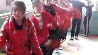 忻州师院艺术系陈荣在上舞蹈课