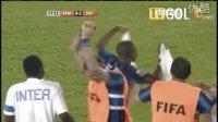 世俱杯-埃托奥潘德夫破门 国际米兰3比0马赞姆贝