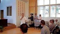 一首超好听的佛教歌曲,由佛曲歌手黄帅居士和几位法师现场演绎还未正式录音的作品《云水之巅》!