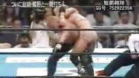 WWE.肌肉女Chyna 当年在 日本NJPW联盟 大战 肌肉男