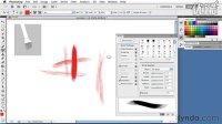 PS.CS5.混合画笔绘图教程0203 Using bristle tips