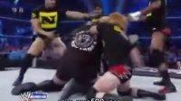 【中文解说】WWE大秀哥单挑Nexus塞纳后来居上