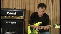电吉他初学教程 点弦