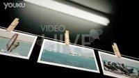 AE模板  晾衣绳式照片模板   VH02   QQ:1599324331
