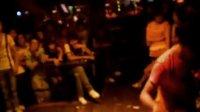 南京DJ小磊2010七夕情人节如意不夜城中场游戏主持现场