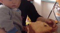 吃妈妈做的北海道吐司(15月)