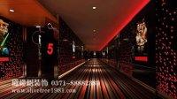 电影院里的浪漫,洛阳酒吧俱乐部装修设计神秘色彩效果图