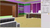 3D MAX动画 视频教程10-6合并模型