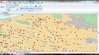 兰州市福利彩票投注站分布及评价信息系统(1)—地图工具演示