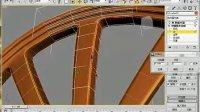 3DMax多边形车轮毂建模2