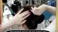 韩国式好看的发型 如何做发型 如何盘头