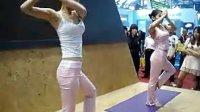 深圳演出地产展深圳特色节目美女瑜伽舞演出