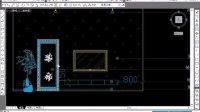 3D MAX视频教程导cad图纸01