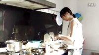 1107-独自操作的香菇鸡肉粥3