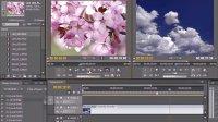 PremiereCS5视频教学54  为源素材监视器窗口中的素材设置标记点