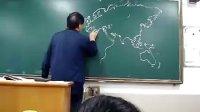 最牛地理老师 手绘世界地图