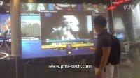 品美信息纳米触摸膜Proshow魔幻橱窗 应用上海文广电视厅 互动触控屏幕 电视台触控方案