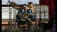 中国鼓手联合会 第一届鼓手大赛 亚军:鼓手 王若曦 打鼓 中国鼓手网