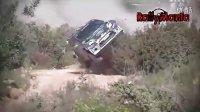 WRC2011葡萄牙站 美国漂移达人肯.布洛克惊险翻车