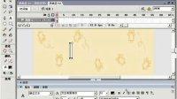 FLASH动画教程310风吹文字动画效果