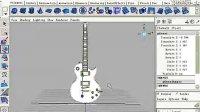 maya基础实例教程-精细电吉他制作05