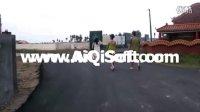 安徽马鞍山一定单车俱乐部2011环海南骑行之56: D3下午:超级美女