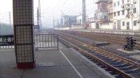 K337次列车长沙站更换车头