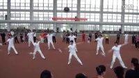 全国柔力球培训班上奥泊隆教练演示飞龙五套