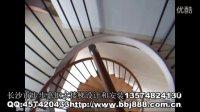 长沙楼梯,长沙步步嘉旋转楼梯设计和安装,株洲金色荷塘旋转楼梯安装后