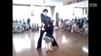 舒老师伦巴恰恰双人舞