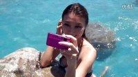 清凉夏日 泳装模特玩转索尼四防卡片机TX10