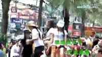 性感绝色美女如云普吉岛巴东海滩泼水节