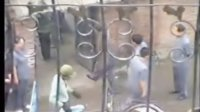 吉林省蛟河市非法拆迁帮助伪造他公司印章的开发商暴力拆迁现场影像